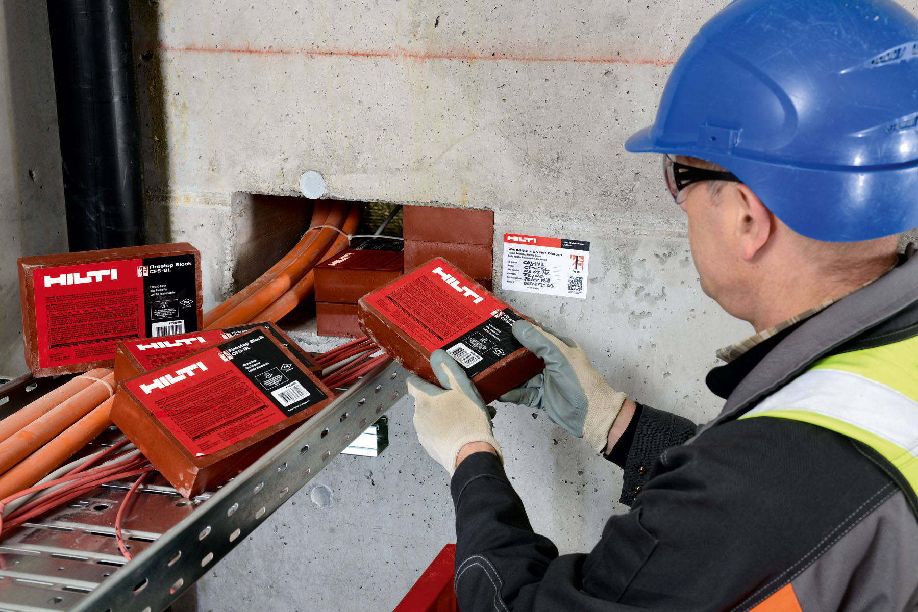 Electrical Penetrations Hilti Great Britain