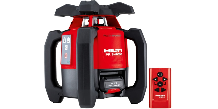 Hilti PR 3-HVSG rotating laser order now