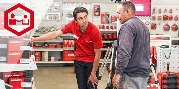 Buying from Hilti