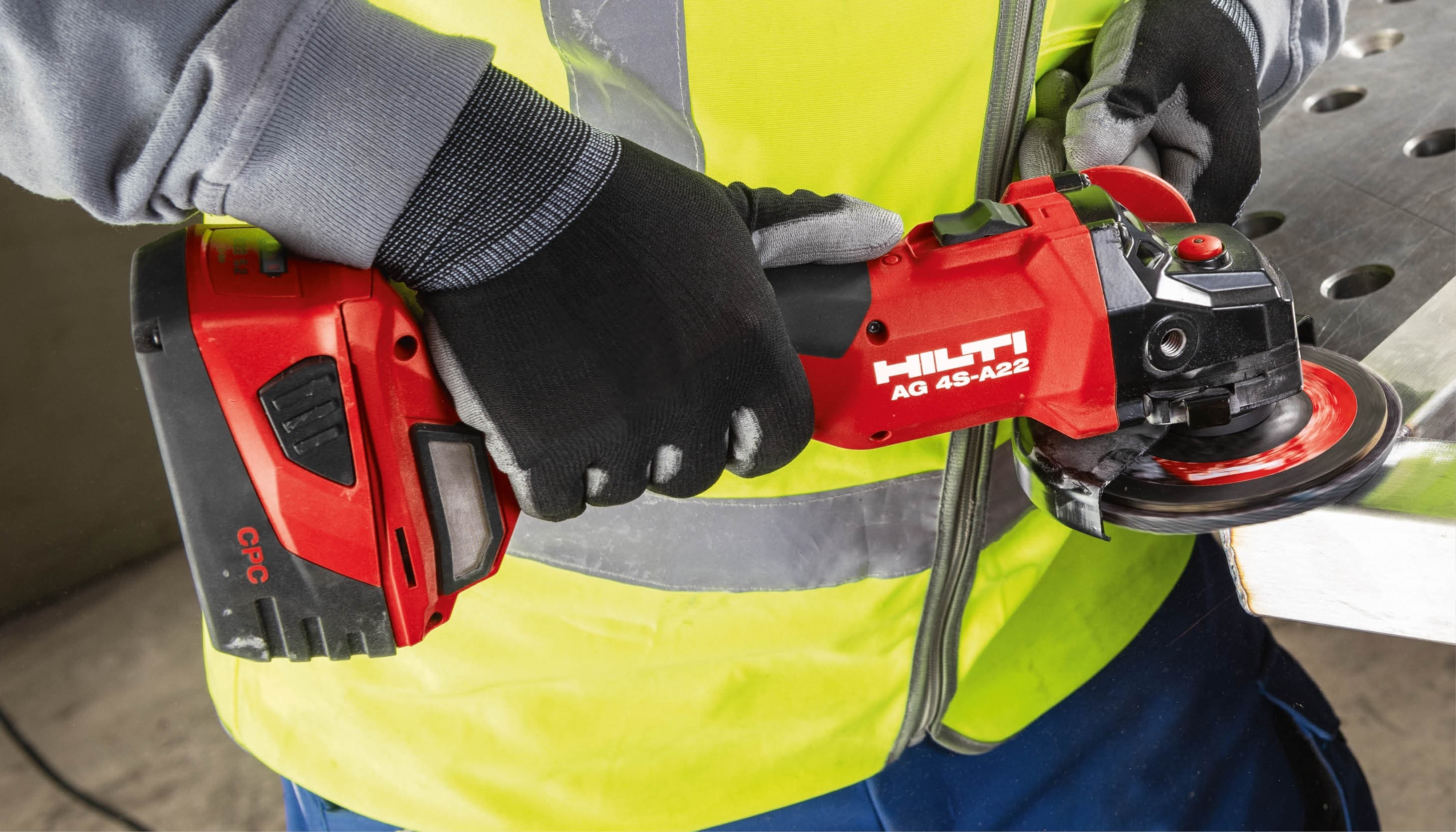 Introducing the AG 4S-A22 cordless grinder