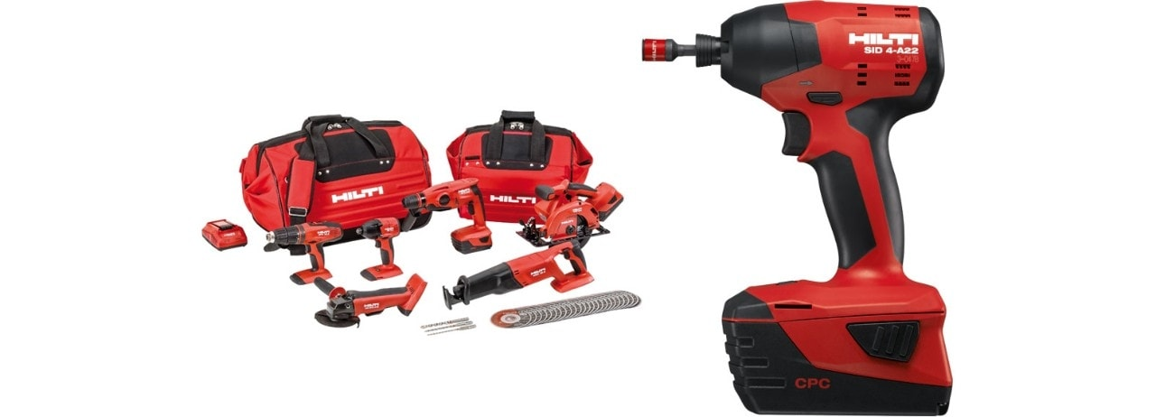View our cordless range