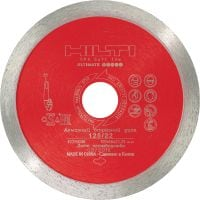 DC-D SPX Soft tile Ultimate diamond blade for superior cutting performance in soft tile materials such as ceramic and marble
