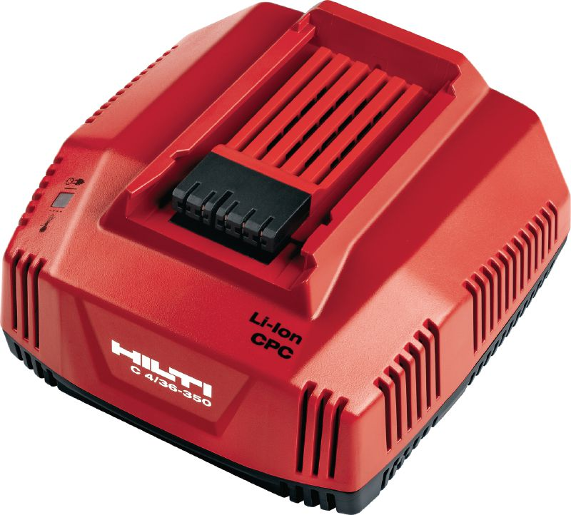 C4/36-350 Multi-voltage fast charger for all Hilti Li-ion batteries