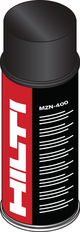 MZN-400 Zinc spray to help protect exposed steel against corrosion