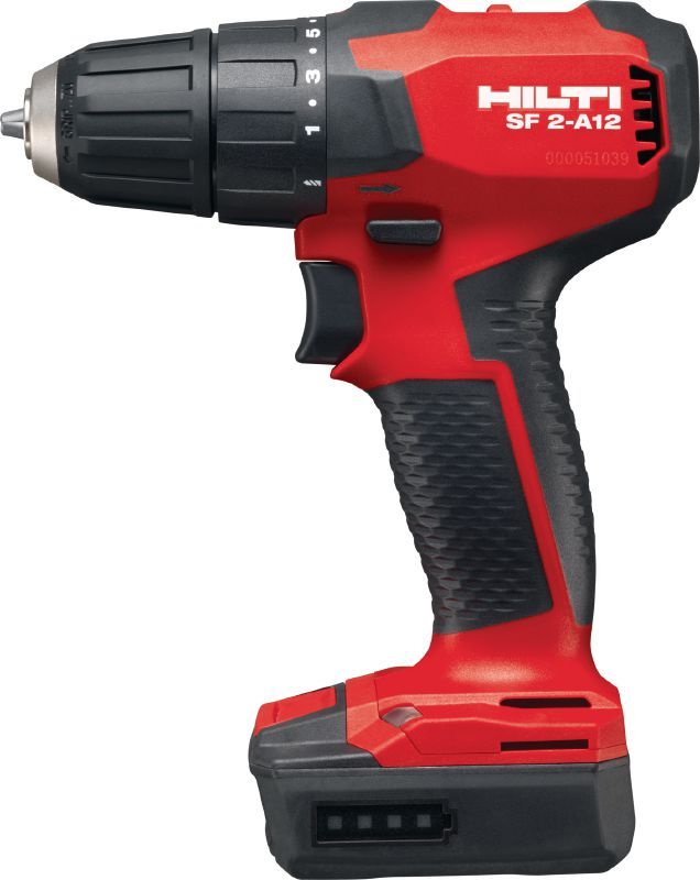 SF 2-A12 Cordless drill driver Subcompact-class 12V brushless drill driver for when you need access, low weight and high control