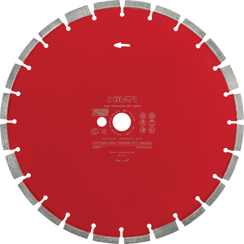 Asphalt (A) Ultimate diamond blade for superior cutting performance in asphalt
