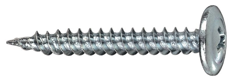 S-DS 06 Z Interior metal framing screw (zinc-plated) for fastening stud to track