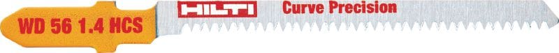 Premium precise curved wood cutting Premium jig saw blade for long life and precise curve cutting in wood