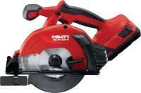 SCM 22-A Cordless metal saw 22V cordless circular saw for fast, precise and cold cuts in metal