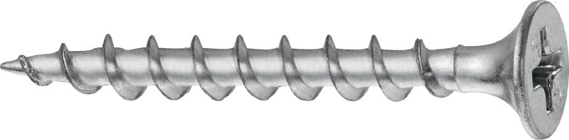 S-DS 03 Z Single drywall screw (zinc-plated) for fastening drywall boards to wood