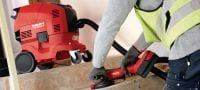 AG 150-A36 Powerful 36V cordless angle grinder (brushless) for cutting and grinding with discs up to 150 mm Applications 2