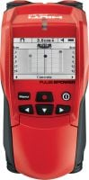 PS 50 Multidetector Versatile detector to find rebar, pipes, live wire and wood for safe drilling