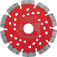 SPX-SL Universal Ultimate diamond blade with Equidist technology for slitting in multiple base materials
