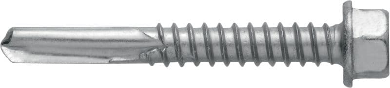 S-MD05GZ Self-drilling screw (zinc-plated carbon steel) without washer for thick metal-to-metal fastenings (up to 15 mm)