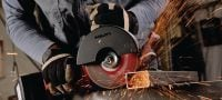 AG 150-A36 Powerful 36V cordless angle grinder (brushless) for cutting and grinding with discs up to 150 mm Applications 1