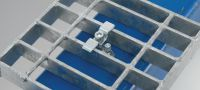 X-GR Directly fastened grating fastener Applications 2