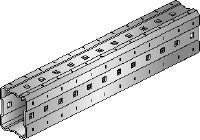 MI Hot-dip galvanised (HDG) installation girders with greater adjustability for heavy-duty applications