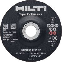 SP grinding disc Premium abrasive grinding disc for metals