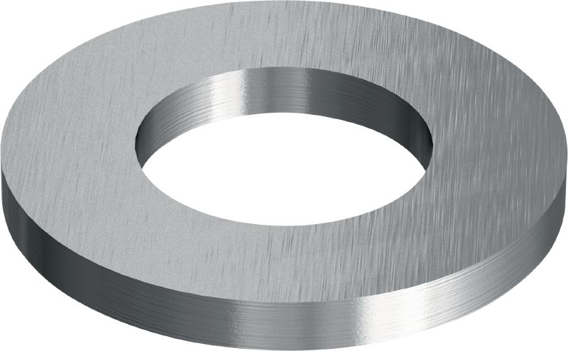 Stainless steel (A2) flat washer ISO 7089 Stainless steel (A2) flat washer corresponding to ISO 7089