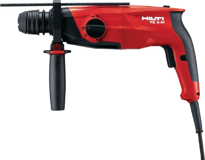 TE 3-M Rotary hammer Powerful pistol-grip, triple-mode, multi-purpose SDS Plus (TE-C) rotary hammer with chipping function