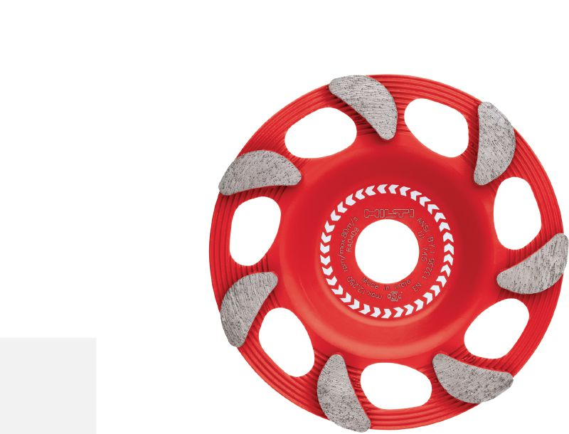SPX fine finish Ultimate diamond cup wheel for angle grinders – for finishing grinding of concrete and natural stone