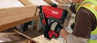 GX-WF HDG smooth Hot-dip galvanised, smooth framing nail for fastening wood to wood with the GX 90-WF nailer Applications 1