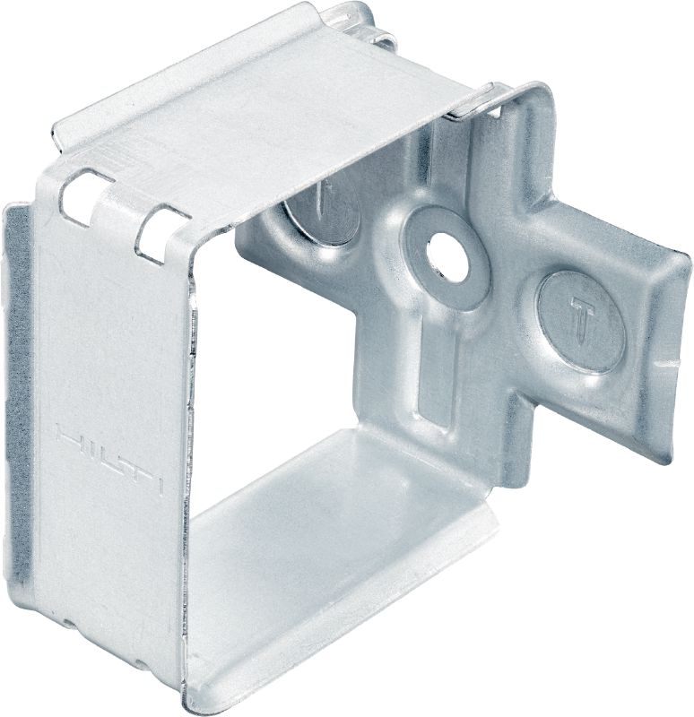 X-ECH-FE MX metal holder Metal bunched cable holder for use with collated nails or anchors on ceilings or walls