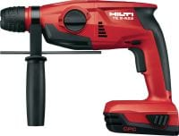 TE 2-A22 Cordless rotary hammer Compact, lightweight 22V cordless rotary hammer with superior handling characteristics