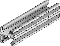MQ-21 D-F Hot-dip galvanised (HDG) MQ installation double channel for medium-duty applications