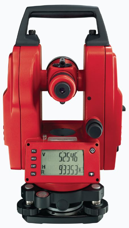 POT 10 Theodolite Theodolite with 30x magnification for levelling and aligning structural components and slopes