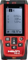 PD-E Laser meter Outdoor laser meter with integrated viewfinder for measurements up to 200 m / 650 ft