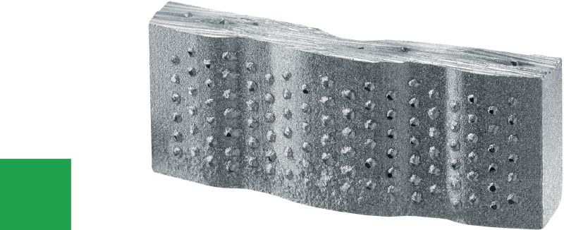 SPX/SP-H abrasive diamond segment Ultimate diamond segment for coring in very abrasive concrete – for ≥2.5 kW tools